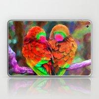 Love Birds - Painting Style Laptop & iPad Skin