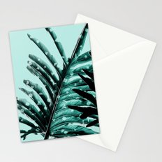 Leaves 2 Geometry Stationery Cards