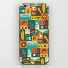 San Diego  iPhone & iPod Skin