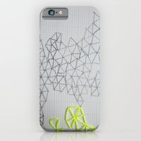 iPhone & iPod Case featuring Neon Geometric by Laurel Howells