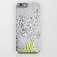 Neon Geometric iPhone 6 Slim Case
