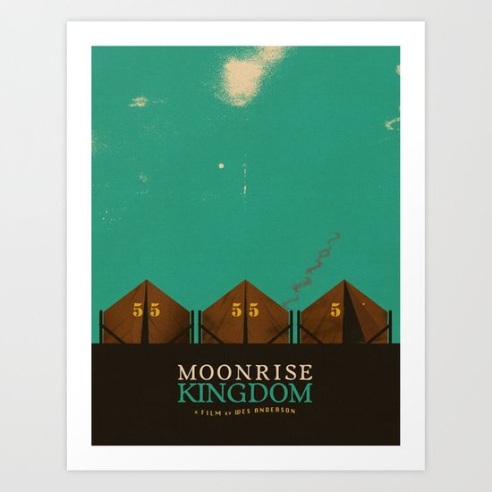 MOONRISE KINGDOM Art Print by VAGABOND | Society6