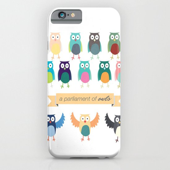 A Parliament of Owls iPhone & iPod Case