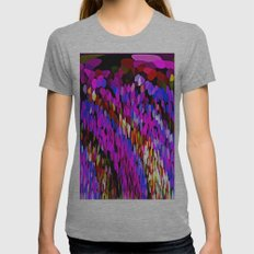 Rainbows And Waterfalls … Womens Fitted Tee Athletic Grey SMALL