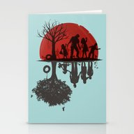 A Family Once Stationery Cards