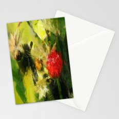 Abstract Berry Stationery Cards