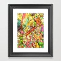 Bacon Bits Framed Art Print