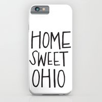 iPhone & iPod Case featuring Home Sweet Ohio by Alisha Williams