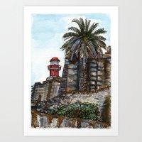 FORTE SANTA CATERINA Art Print