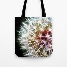 Fractal dandelion Tote Bag