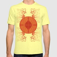 Sunday bloody sunday Mens Fitted Tee Lemon SMALL