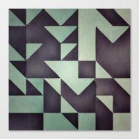 :: Geometric Maze VIII :… Canvas Print