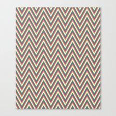 Retro chevron Canvas Print