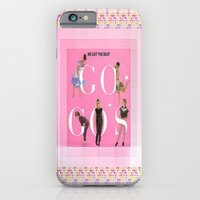 iPhone Cases featuring THE GOGO'S by Kathead Tarot