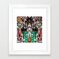 Cosmic Exposure Framed Art Print