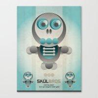 Skul Bros Canvas Print