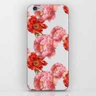 iPhone & iPod Skin featuring Vintage Floral by Cardboardcities