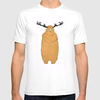 Laurence Moose Mens Fitted Tee White SMALL