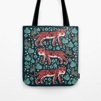 Safari Tiger By Andrea L… Tote Bag