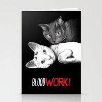 BloodWork! Stationery Cards