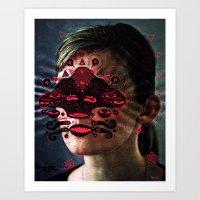E Y E Z  Art Print