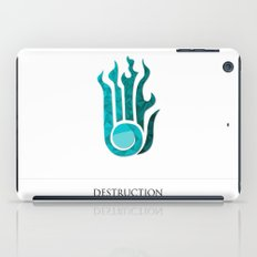 destruction iPad Case