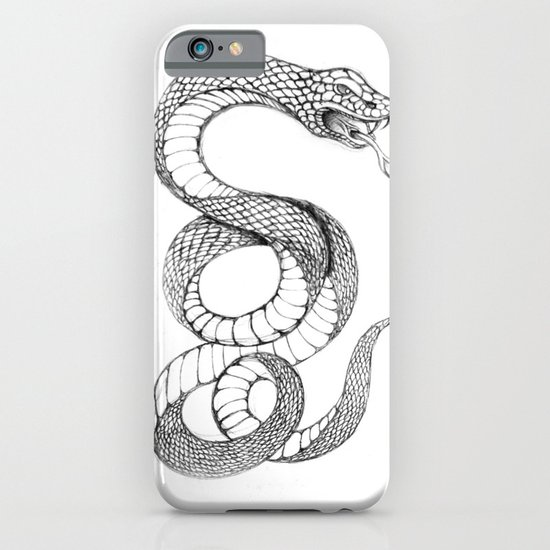 snake 02 iPhone & iPod Case