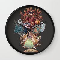 The Four Season Wall Clock