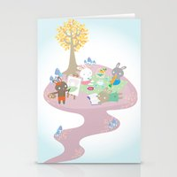 Picnic Day Stationery Cards