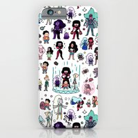 iPhone Cases featuring Cute Steven Universe Doodle by KiraKiraDoodles