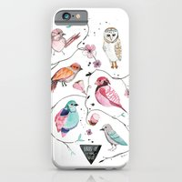 iPhone & iPod Case featuring BIRDS OF THE WILD by MEERA LEE PATEL