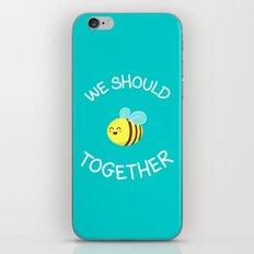 A bug's love life iPhone & iPod Skin