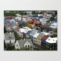 Reykjavik, Sweet. Canvas Print