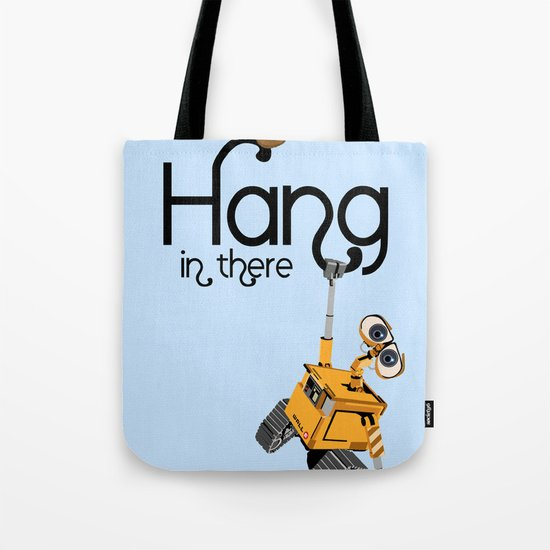 Pixar/Disney Wall-e Hang in There Tote Bag