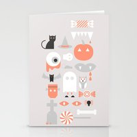 #24 Halloween Stationery Cards
