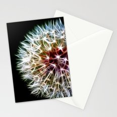 Fractal dandelion Stationery Cards