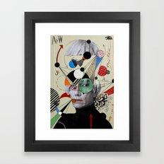 anti pop andy Framed Art Print