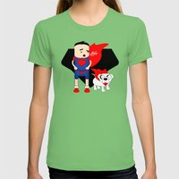 Adventure 2 Womens Fitted Tee Grass SMALL