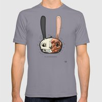 Visible Floating BunnyHe… Mens Fitted Tee Slate SMALL
