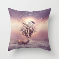 Throw Pillow featuring In The Stillness by Soaring Anchor Desig…