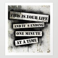 This Is Your Life Art Print