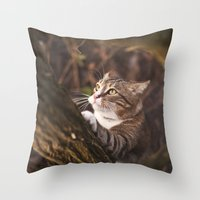 Chrapcio the Fierce Throw Pillow