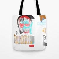 DEATH BECOMES U Tote Bag