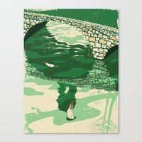 Herbert Warren Wind Canvas Print