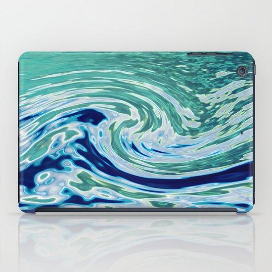OCEAN ABSTRACT 2 iPad Case