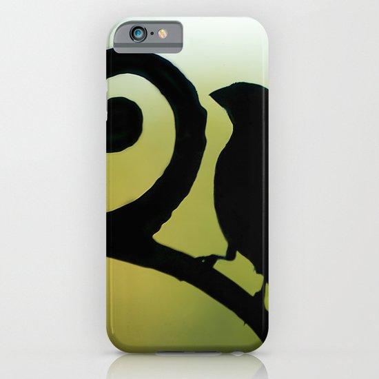 Bird on the Ironwork iPhone & iPod Case