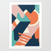 Galactic Pit Art Print