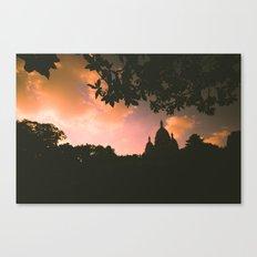 Sacre-Coeur, Paris. Canvas Print