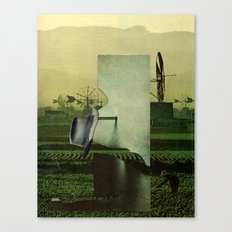 Work machine Canvas Print