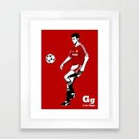 G is for Giggs Framed Art Print